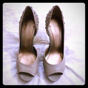 BCBGeneration Tan heels
